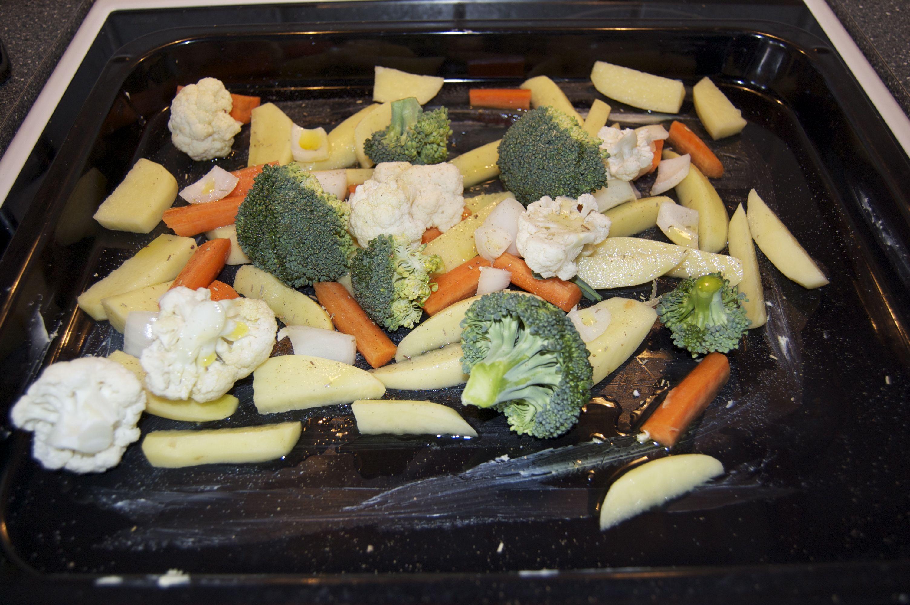 sommerkoteletter i ovn
