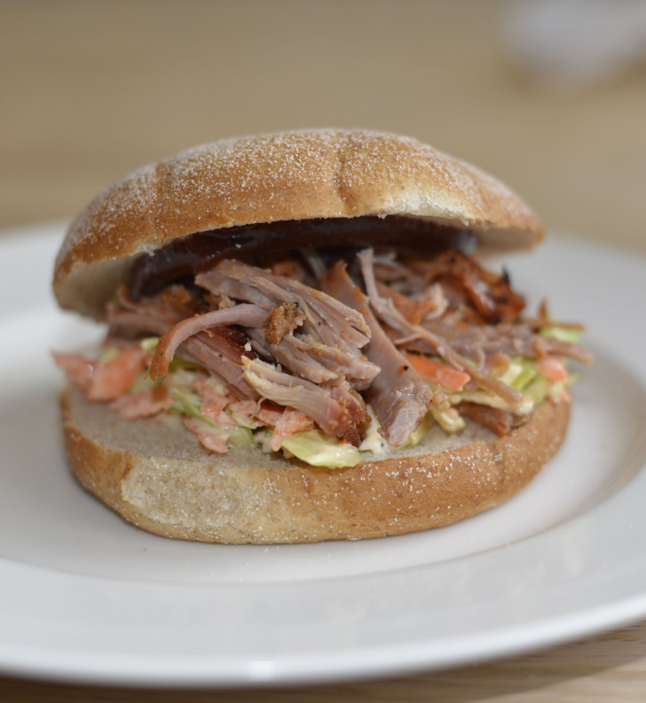 Pulled Pork med Coleslaw